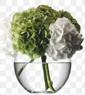 Vase - Vase Flower Bouquet Glass Cut Flowers PNG