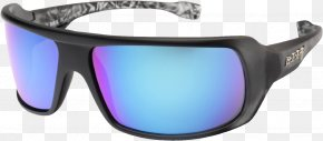 Sunglasses - Goggles Sunglasses Lens Blue PNG