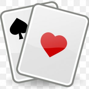 Solitary Vector - Playing Card Patience Contract Bridge Clip Art PNG