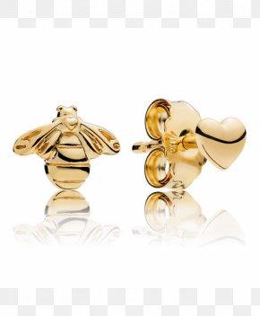 Jewellery - Earring Pandora Jewellery Charm Bracelet Gold PNG