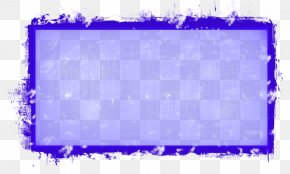 Blue Border Transparent - Borders And Frames Vector Graphics Clip Art Image PNG