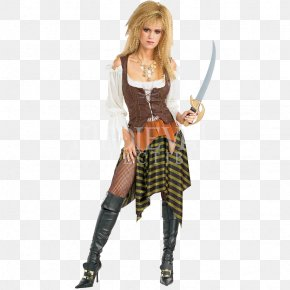 Piratewench - Halloween Costume Piracy Dress Clothing PNG