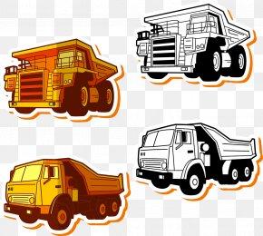 Truck - Car Truck Euclidean Vector PNG