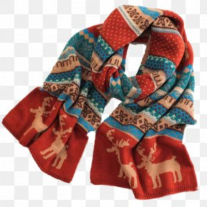 Sided Wool Scarves Couple - Scarf Significant Other Girlfriend Christmas PNG
