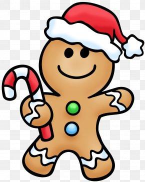 Transparent Gingerbread Cliparts - The Gingerbread Man Clip Art PNG