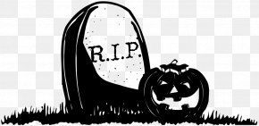 Images Of Pumpkin - Halloween Headstone Cemetery Rest In Peace Clip Art PNG