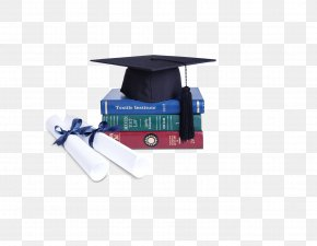 Dr. Cap Books - WE School Graduation Ceremony Doctorate Bachelors Degree Education PNG