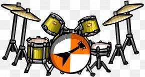 Drums Pictures - Club Penguin Drums Drummer Clip Art PNG
