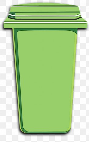Plastic Waste Containment - Green Waste Container Recycling Bin Waste Containment Plastic PNG