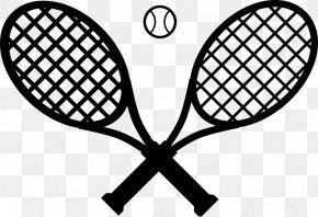 Tennis - Racket Tennis Ball Clip Art PNG