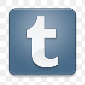 Icon Tumblr Logo Svg - Social Media Desktop Wallpaper Icon Design PNG