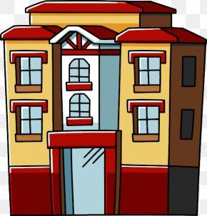 Apartment Clipart - Apartment House Clip Art PNG