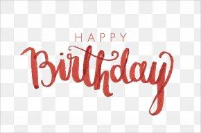 Happy Birthday Calligraphy Image - Birthday Calligraphy Font PNG
