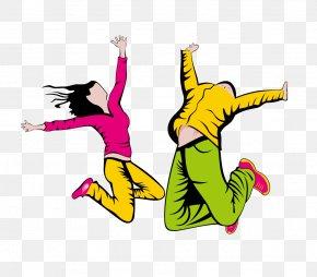 Street Dance Men And Women - Hip-hop Dance Clip Art PNG