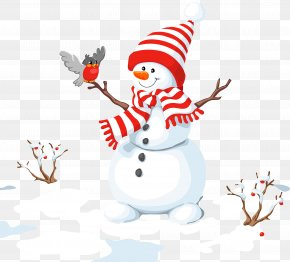 Snow Snowman - Snowman Christmas Clip Art PNG