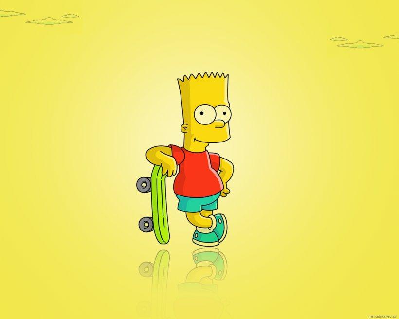 Bart Simpson Homer Simpson Maggie Simpson Lisa Simpson