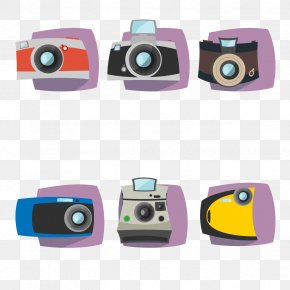 Vector Camera Collection - Camera Polaroid Corporation Icon PNG