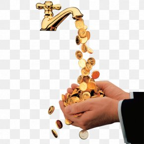 Gold Faucets - Tap PNG