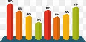 Color Three-dimensional Bar Chart. - Bar Chart Histogram Plot PNG