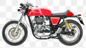 Royal Enfield Continental GT Motorcycle Bike - Motorcycle Enfield Cycle Co. Ltd Royal Enfield Bullet Bentley Continental GT Cafxe9 Racer PNG