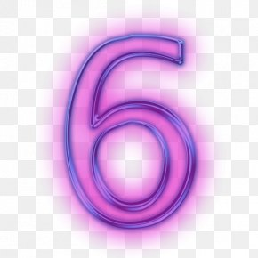 Number 6 - Number Icon PNG