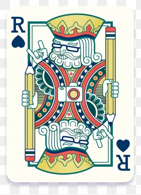 Illustrator Behance - Playing Card King Of Spades PNG