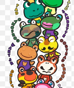 Frog - Animal Crossing: New Leaf Frog Video Game Nintendo PNG