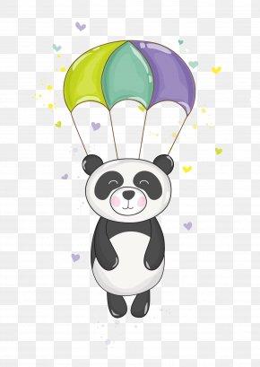 Panda - Giant Panda Cartoon Clip Art PNG