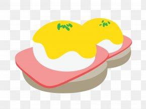 Eggs Benedict - Eggs Benedict Breakfast Omelette Ham Clip Art PNG