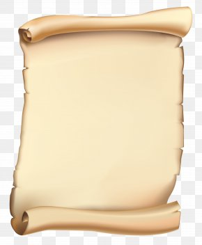 Scroll Clipart Image - Paper Parchment Scroll Clip Art PNG