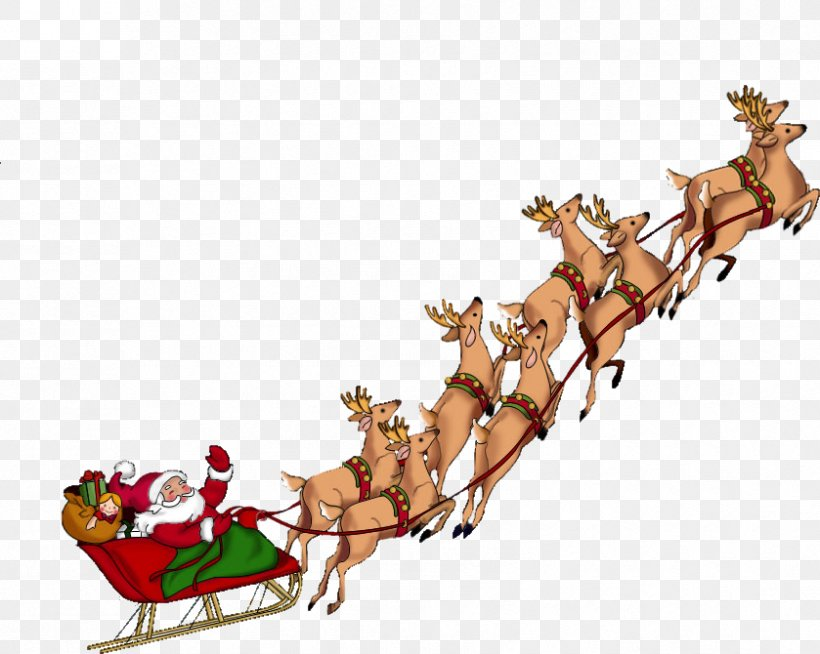 Santa Claus Clip Art Christmas Day Père Noël, PNG, 839x670px, Santa Claus, Animal Figure, Branch, Christmas, Christmas Day Download Free