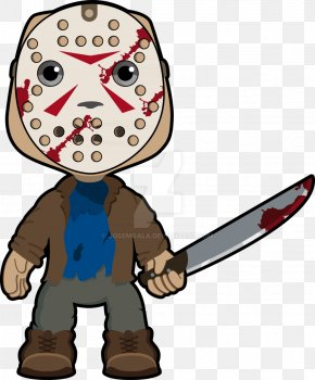Yellow Friday - Jason Voorhees Friday The 13th: The Game YouTube Cartoon PNG
