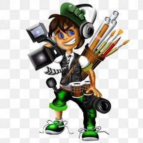 Graphic Design - Cartoon Graphic Designer Animation PNG