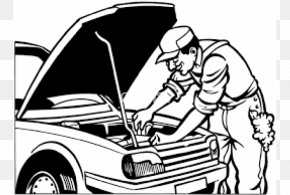 Car - Car Colouring Pages Coloring Book Auto Mechanic Automobile Repair Shop PNG