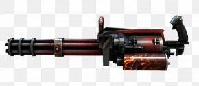 Machine Gun - CrossFire Gatling Gun Machine Gun Firearm PNG