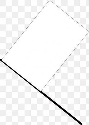 White Flag Picture - Paper White Triangle Area PNG