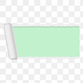 Papel - Teal Turquoise Rectangle PNG