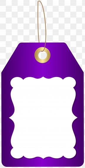 Purple Deco Price Tag Clip Art Image - Icon Price PNG