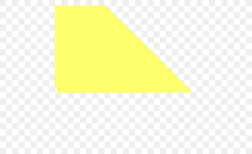 Line Triangle, PNG, 500x500px, Triangle, Rectangle, Yellow Download Free