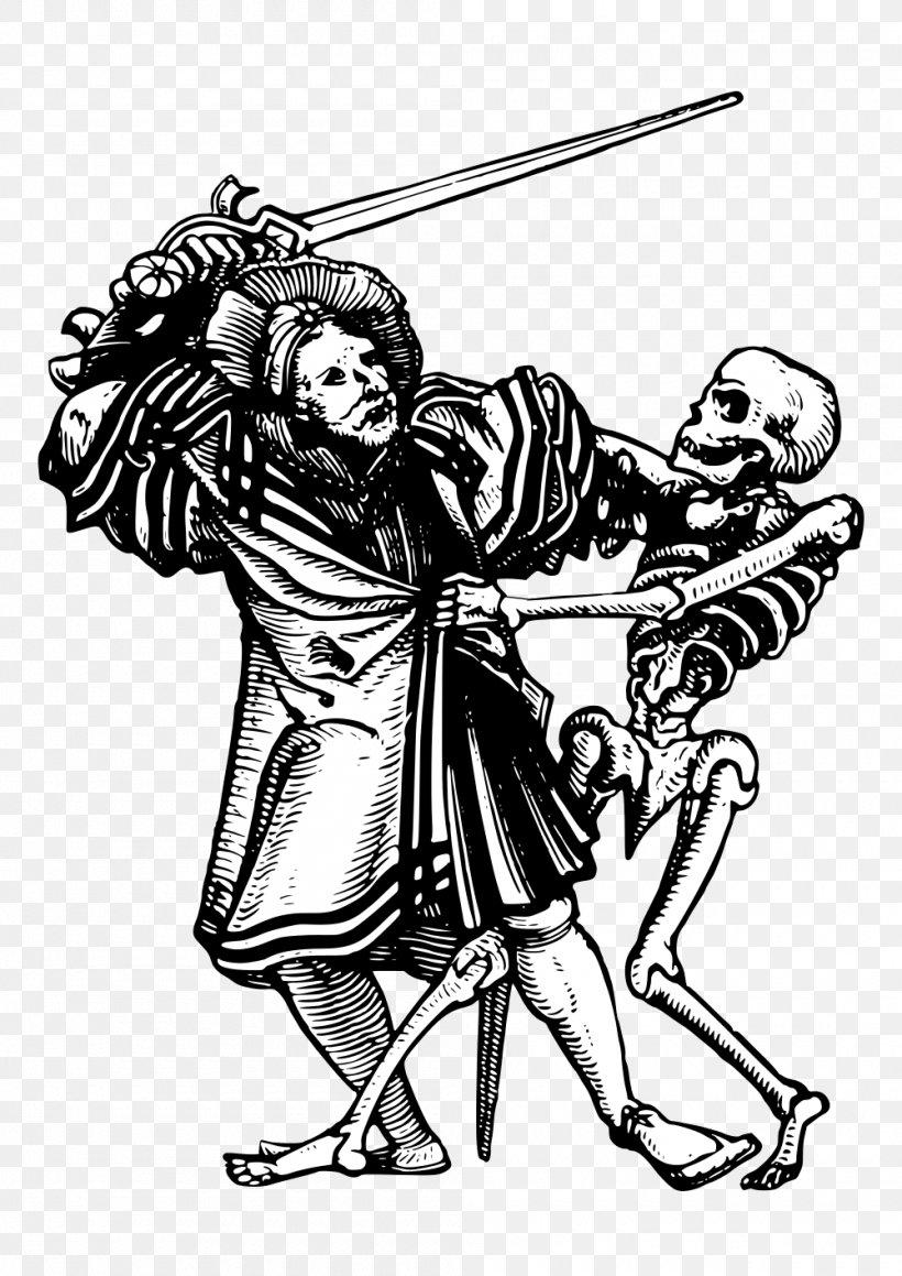 Death Danse Macabre Clip Art Png 1000x1414px Watercolor Cartoon Flower Frame Heart Download Free