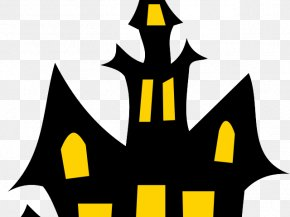 Defendant Symbol - Haunted House Clip Art Haunted Attraction Halloween PNG