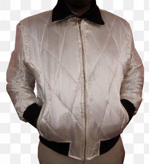 Jacket - Leather Jacket Outerwear Sleeve Coat PNG