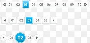 Vector Web Design Page - Blue Euclidean Vector Web Design Vecteur Number PNG