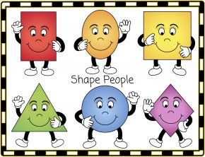Shapes Cliparts - Geometric Shape Shapes Are Everywhere! Circle Clip Art PNG