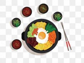 A Table Of Food - Korean Cuisine Bibimbap Asian Cuisine Galbi Chinese Cuisine PNG