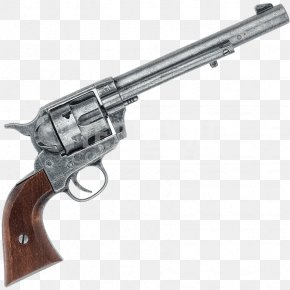 Weapon - Revolver Colt's Manufacturing Company Firearm Trigger Colt Single Action Army PNG