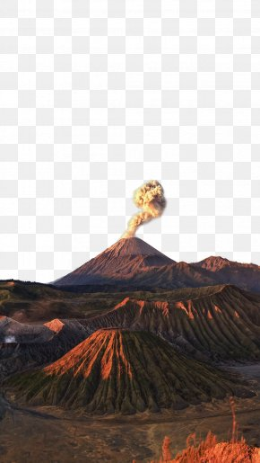 HD Volcano Plot - Mount Pinatubo Mount Bromo Volcano PNG
