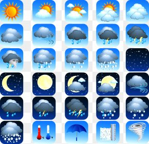 Weather Forecast Icon - Weather At Sea Weather Forecasting Weather And Climate Icon PNG