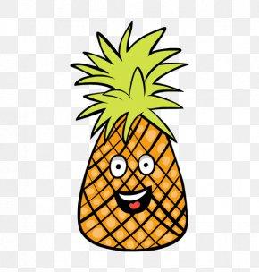 Cartoon Pineapple Cliparts - Pineapple Cuisine Of Hawaii Fruit Clip Art PNG