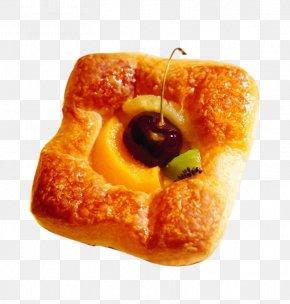 Cherry Fruit Bread - Bakery Breakfast Bread Food Cake PNG